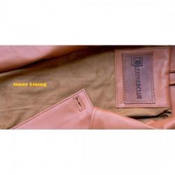 Pearlessence Lipstick Leather Jacket