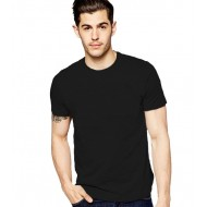 BLACK MEN'S T - SHIRT