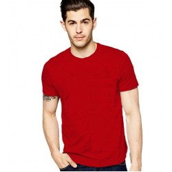 RED MEN'S TSHIRT