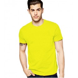 YELLOW MEN'S TSHIRT