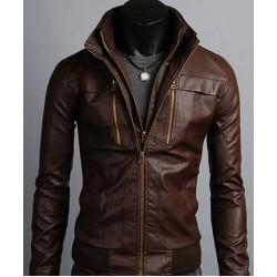 Harvest Leather Jacket(HLR909)