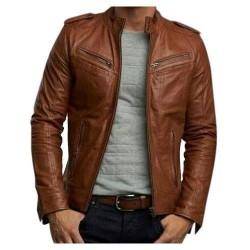 Journey Nightfall Leather Jacket(HLRLC911)