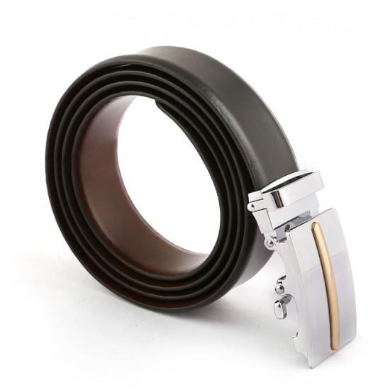 Auto Lock Italian Leather Belt