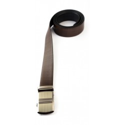Dual Color Reversible Leather Belt