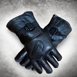 Free Size Leather Gloves