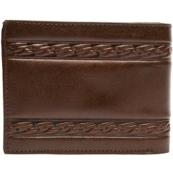 Black buffalo coffe colour wallet