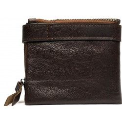 Esiposs chocolate brown wallet for daily use