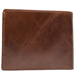 Esiposs chocolate brown stylish leather wallet