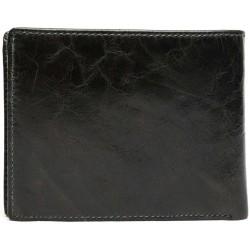 Esiposs black leather wallet