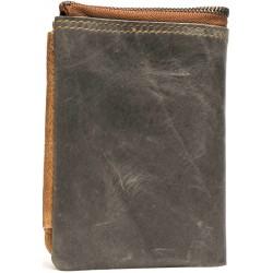 Esiposs light black leather wallet