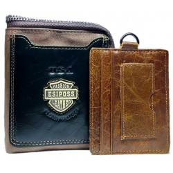 Fashion Esiposs  USA leather wallet