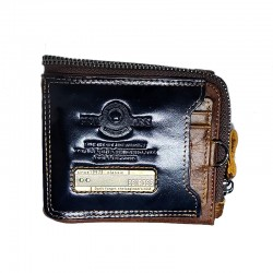 Esiposs deep blue leather wallet