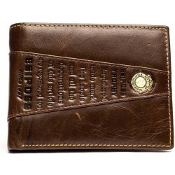 Esiposs stylish brown  leather wallet
