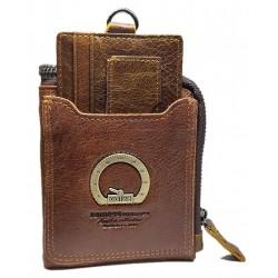 Esiposs tan men's leather wallet