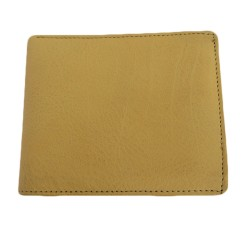 YELLOW COLOUR LEATHER WALLET