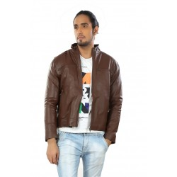 Cumin Leather Jacket