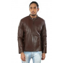 Hiller Tan Leather Jacket