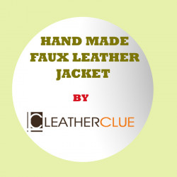 Custom Made Faux Leather Jacket