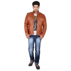 Mystique Croco Harvest Leather Jacket