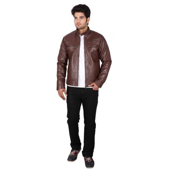 Native Shawnee Leather Jacket