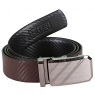 Classy Designer Brown Belt With Auto Lock Buckle