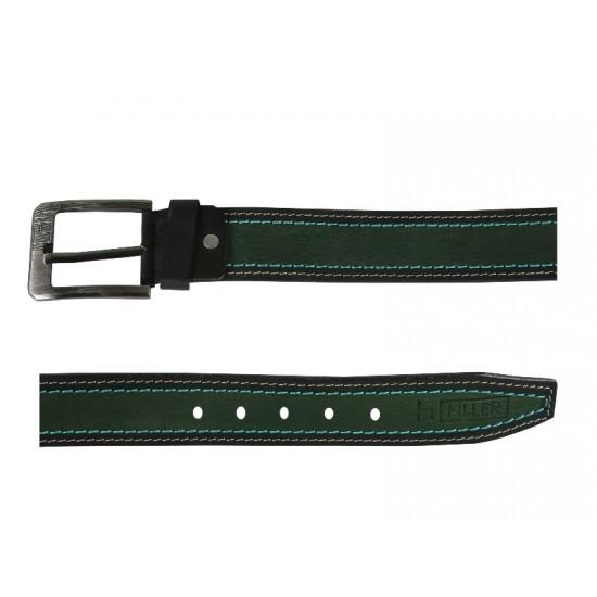 4 Stitched Green Belt