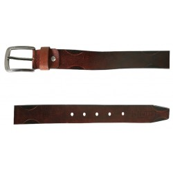 Dark Brown Pin Buckle