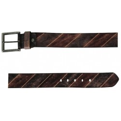 Shaded Brown-Black Belt With Pin Buckle