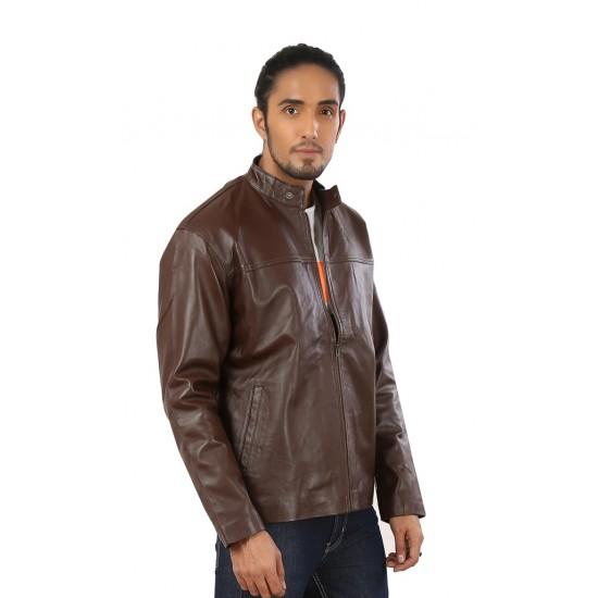 Panorama Leather Jacket
