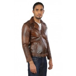 Root Beer Leather Jacket