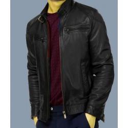 Black Color Leather Jackets