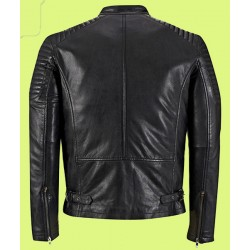 Jubilee Black Diamond Leather Jacket