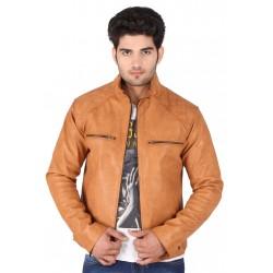 Glazed Bourbon Leather Jacket