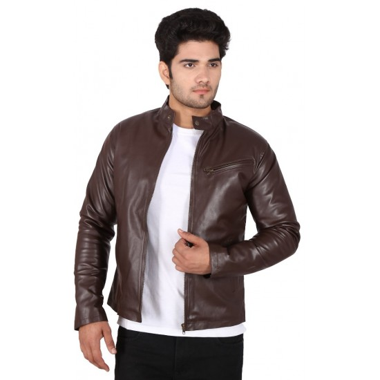 HILLER LEATHER JACKET
