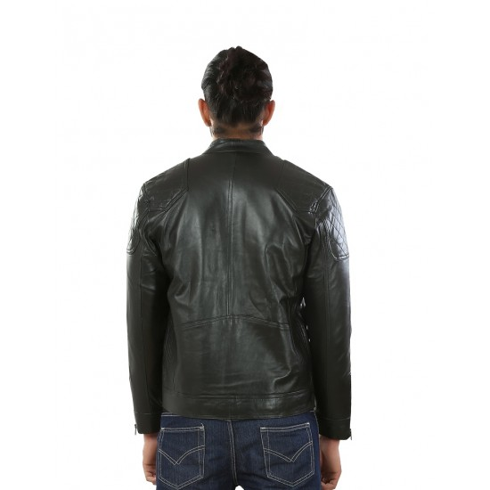 Black Stylish Leather Jacket
