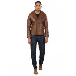 Tan Stylish Leather Jacket