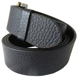Formal Black Leather Belt