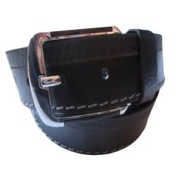 Single Stitched Leather Belt