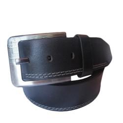 Side Stitched Leather Belt