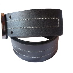 Dual Pin Leather Belt