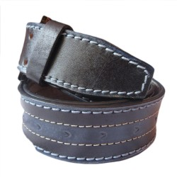 Four Stitched Stylish Leather Belt