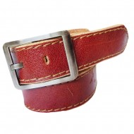 Double Stiched Leather Belt