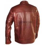 STYLISH LEATHER GENTS JACKET