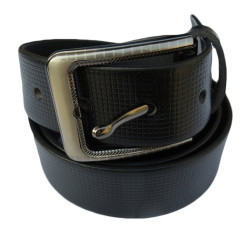 Square Texture Leather belt