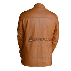 Carnelian Leather Jacket