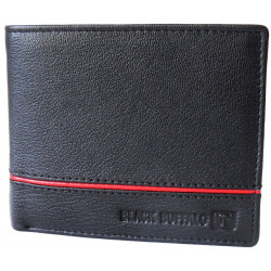 Red Stiched leather Wallet