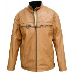 Chatham Camel Leather Jacket