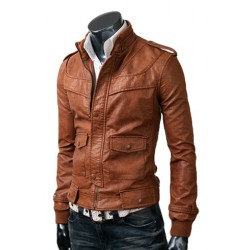 Gents leather jacket