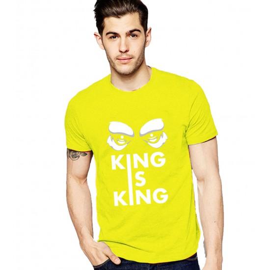 KING IS KING MENS TSHIRT
