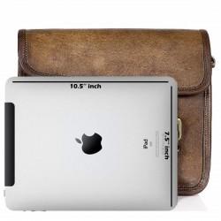 Real Leather Vintage Handmade Brown Messenger Bag